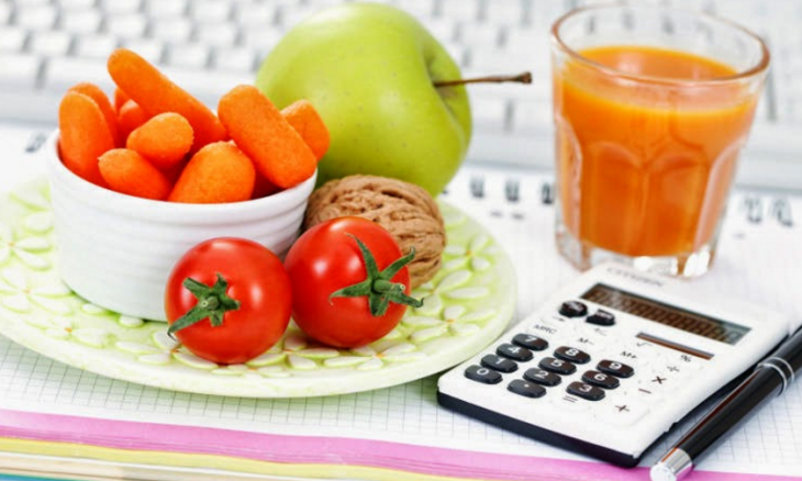 Дневная, суточная норма калорий для женщин.